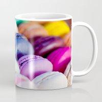 macaroons Mugs featuring Macaroons by rosita