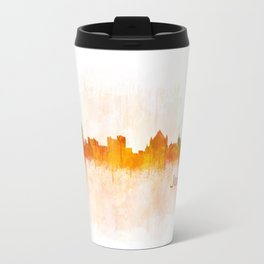 Jerusalem City Skyline Hq v3 Travel Mug