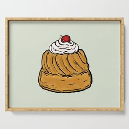 R is for Rum Baba Serving Tray