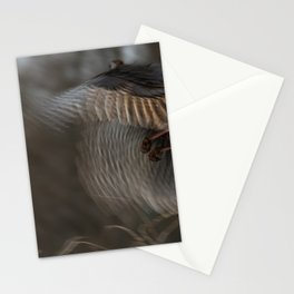 Abstract Turkey flight Stationery Cards