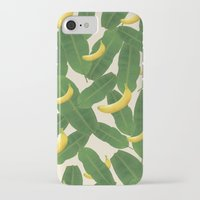 banana leaf iPhone & iPod Cases featuring banana by aisyrahma