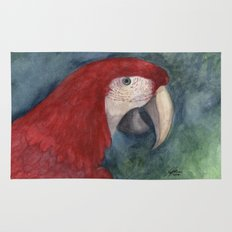 Red Macaw Rug