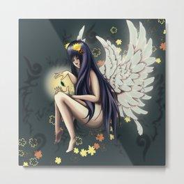 Angel Hinata Metal Print