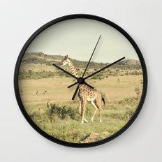 crossing::kenya Wall Clock