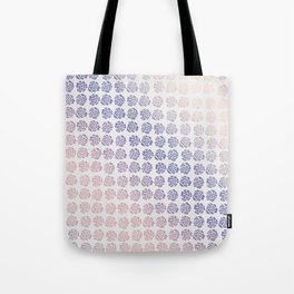 Roses pattern V Tote Bag