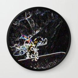 "Pop Art Digital Photo ""Sweet Ladybug"" jjhelene design Wall Clock"