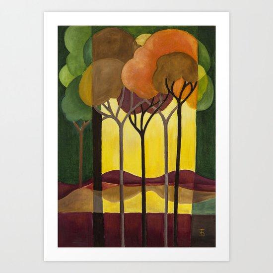 DoroT No. 0001 Art Print