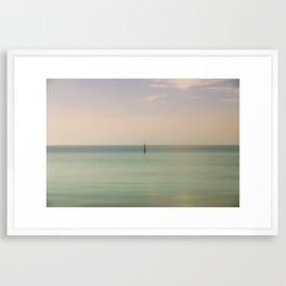 Calming Waters Framed Art Print