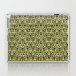 Yellow Apples Pattern Laptop & iPad Skin