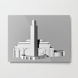 Hassan II Mosque  Metal Print