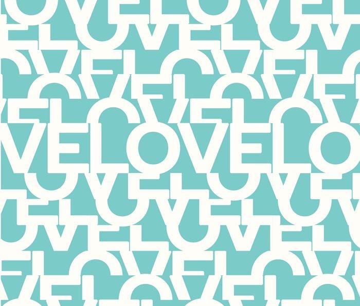 Hidden blue LOVE message Metal Travel Mug