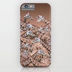 Sea of Giraffes Slim Case iPhone 6s
