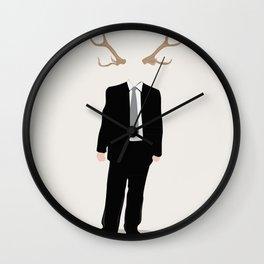 Nature and Society Wall Clock