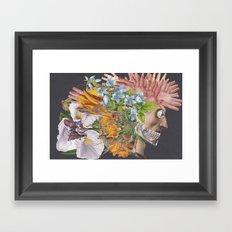 Art and Nightlife Framed Art Print