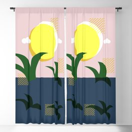 A Beautiful Morning Blackout Curtain