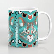 Cubist Cat Mug