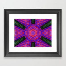 Abstract X One Framed Art Print