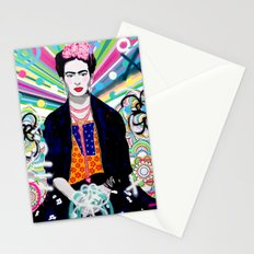 Frida Kahlo by Paola Gonzalez Stationery Cards
