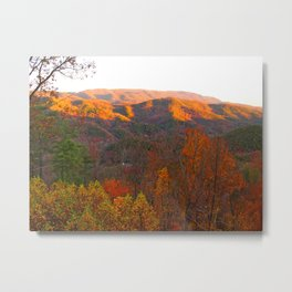 Autumn in Tennessee Metal Print