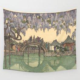 Toshi Yoshida Half Moon 1941 Wall Tapestry