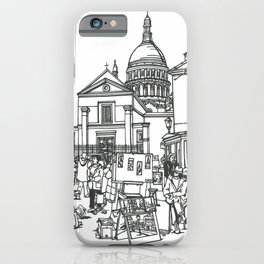 Monmartre iPhone Case