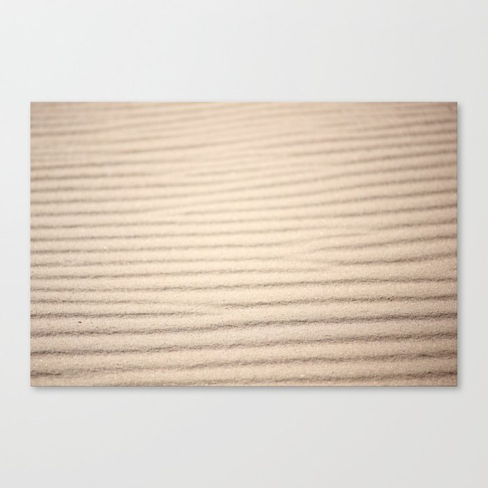 Desert Ocean Canvas Print