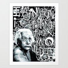 Einstein.  Art Print