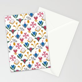Blue Bell – Scandinavian folk art Stationery Cards