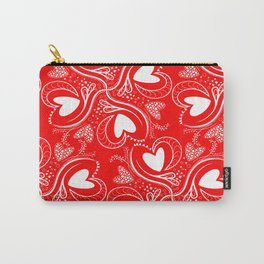 Hearts, Love,Valentine 2020 Carry-All Pouch
