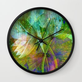lotus2 Wall Clock