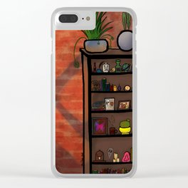The Library Clear iPhone Case