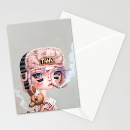 Tank Girl and Booga Stationery Cards