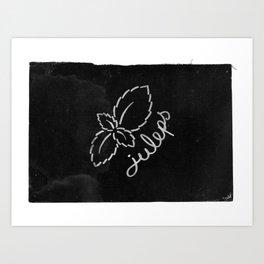 Mint Juleps Art Print