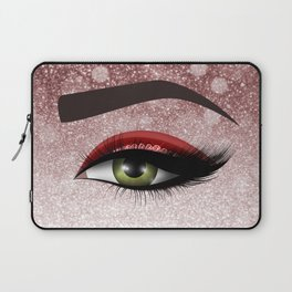 Glam diamond lashes eye #2 Laptop Sleeve