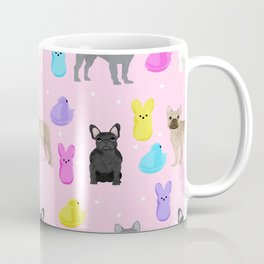 French Bulldog peeps marshmallow spring easter treats frenchie must haves dog breeds Coffee Mug