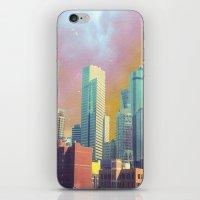dallas iPhone & iPod Skins featuring Dallas Ya'll by Lynsey Ledray