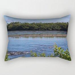 Pink Point Rectangular Pillow