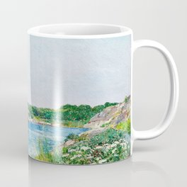 Frederick Childe Hassam - The Little Pond, Appledore - Digital Remastered Edition Coffee Mug