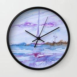 Eyes in the sky Wall Clock