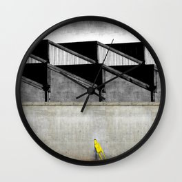You're Out Wall Clock