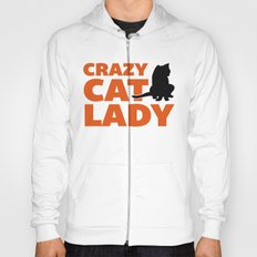 Crazy Cat Lady Funny Quote Hoody