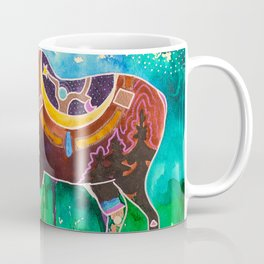 Fantastic Moose - Animal - by LiliFlore Coffee Mug
