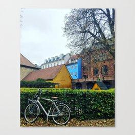 Postcard shot, Copenhagen Canvas Print
