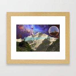 Trek into Another Dimension Framed Art Print