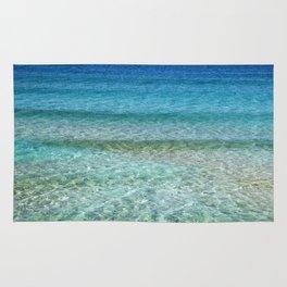Abstract Ocean Rug