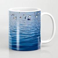 ducks Mugs featuring Ducks by Ali Bee