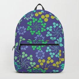 Fun Multicolored Whirligig Pattern Backpack