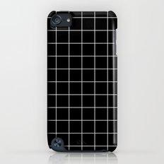 Black White Grid Slim Case iPod touch