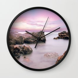 Calming Hues Wall Clock