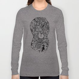 Quadruple Header Long Sleeve T-shirt